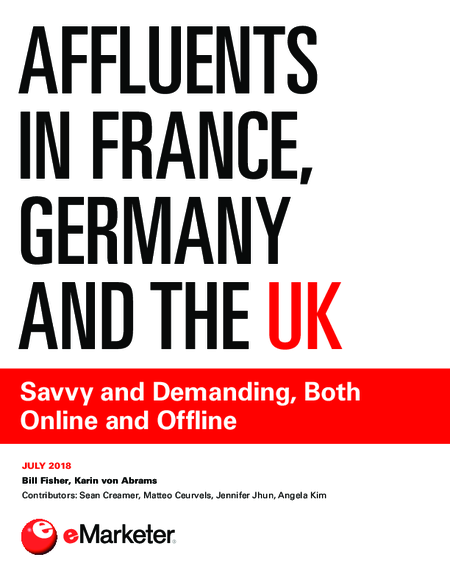 Affluents in France, Germany and the UK