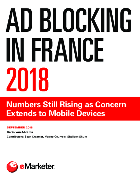 Ad Blocking in France 2018