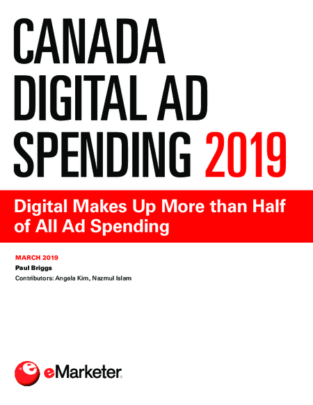 Canada Digital Ad Spending 2019