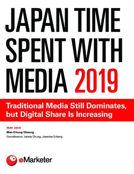 Japan Time Spent with Media 2019