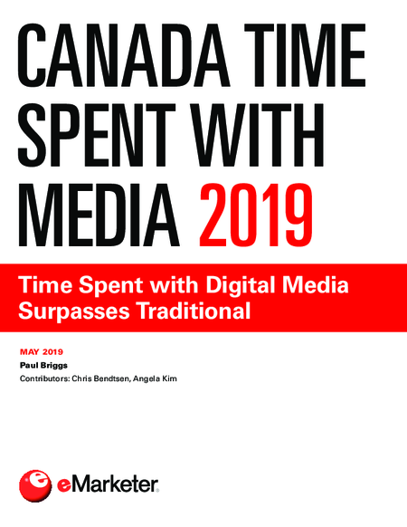 Canada Time Spent with Media 2019