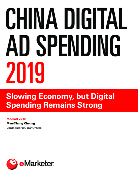 China Digital Ad Spending 2019