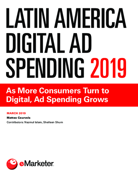 Latin America Digital Ad Spending 2019