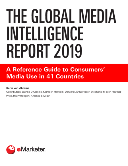 The Global Media Intelligence Report 2019