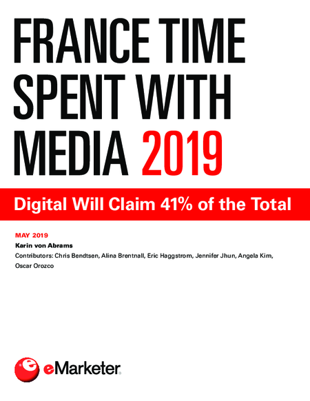 France Time Spent with Media 2019