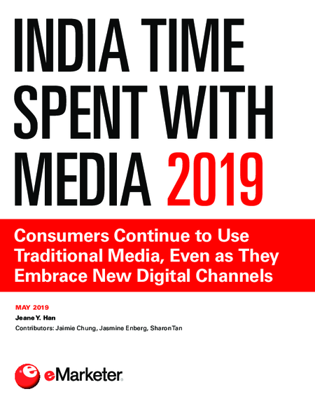 India Time Spent with Media 2019
