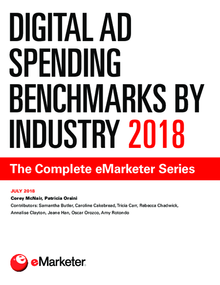 Digital Ad Spending Benchmarks by Industry 2018