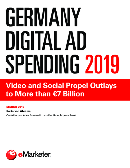 Germany Digital Ad Spending 2019