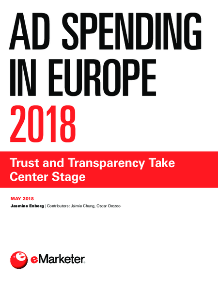 Ad Spending in Europe 2018