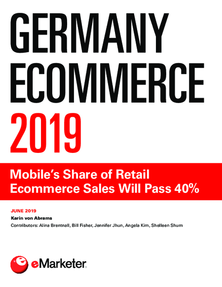 Germany Ecommerce 2019