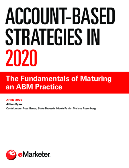 Account-Based Strategies in 2020