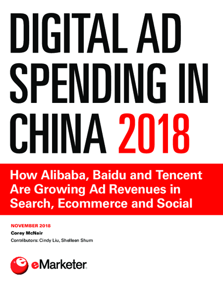 Digital Ad Spending in China 2018