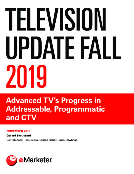 Television Update Fall 2019