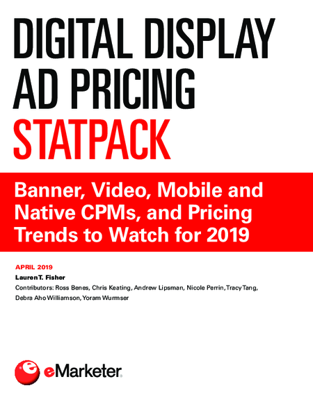 Digital Display Ad Pricing StatPack