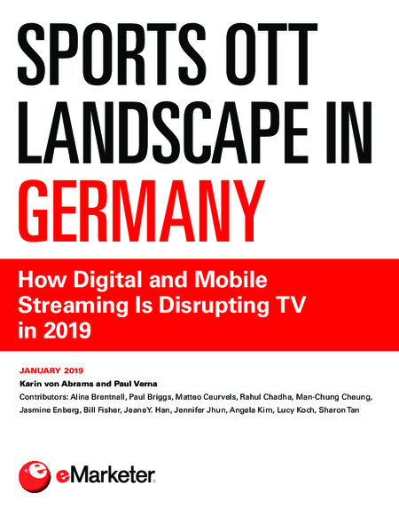 Sports OTT Landscape in Germany