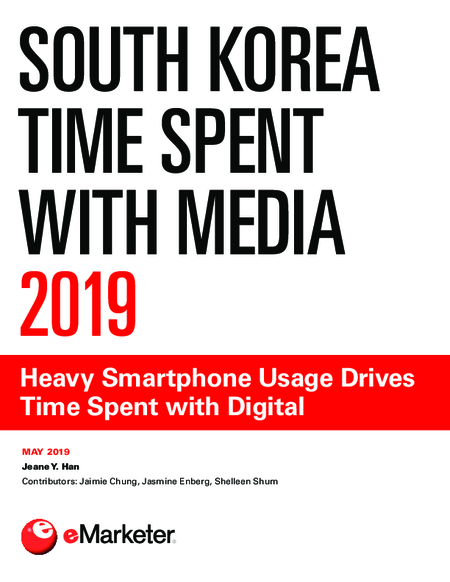 South Korea Time Spent with Media 2019